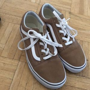 Vans women's size 8.5 khaki shoes